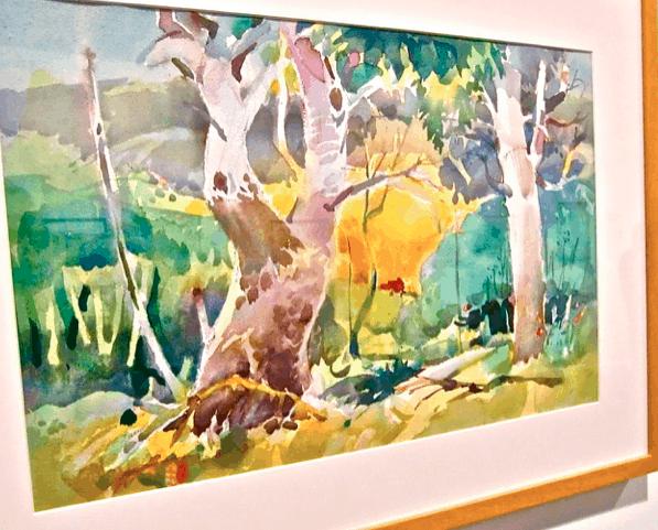 Colorful Landscape by Milton Quon