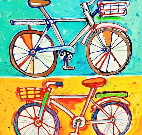 Twin Bikes