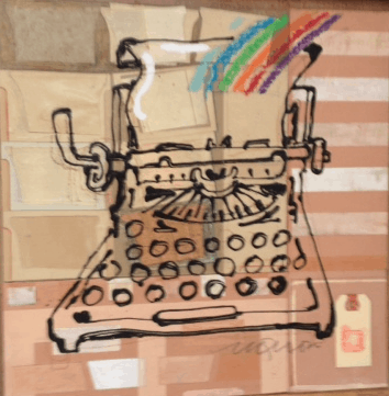 Typewriter Rainbow